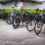 deposito chiuso biciclette hotel holiday torbole