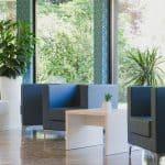 Sala di attesa Hotel Holiday Torbole lago di Garda Trentino