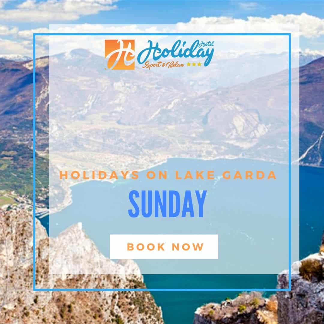 Sunday EARLY BOOKING lake garda